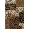 Momeni Bond 111-in x 150-in Rectangular Cream/Beige/Almond Transitional Area Rug