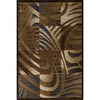 Momeni Worth 111-in x 150-in Rectangular Brown/Tan Geometric Area Rug