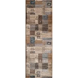 Momeni Hudson Ivory Rectangular Indoor Woven Runner (Common: 2 x 7; Actual: 27-in W x 90-in L)