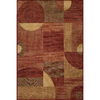 Momeni Essex Rectangular Red Geometric Woven Accent Rug (Common: 2-ft x 3-ft; Actual: 24-in x 36-in)