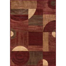 Momeni Essex Red Rectangular Indoor Woven Area Rug (Common: 4 x 6; Actual: 47-in W x 67-in L)