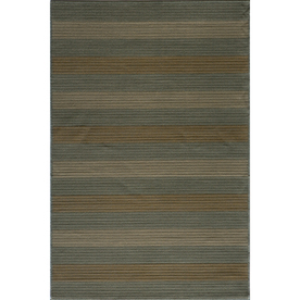 Momeni Cooper Rectangular Blue Transitional Woven Area Rug (Common: 4-ft x 6-ft; Actual: 3.91-ft x 5.58-ft)