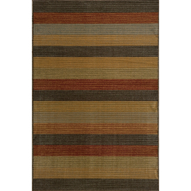 Momeni Cooper Rectangular Multicolor Transitional Woven Area Rug (Common: 8-ft x 10-ft; Actual: 7.83-ft x 9.83-ft)