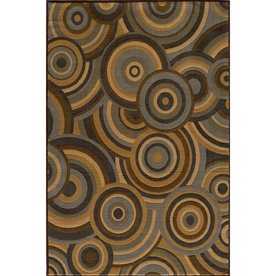 Momeni Chase Rectangular Brown Geometric Woven Area Rug (Common: 10-ft x 13-ft; Actual: 9.25-ft x 12.5-ft)