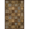 Momeni Varick 111-in x 150-in Rectangular Brown/Tan Geometric Area Rug