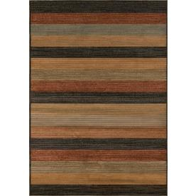 Momeni Cooper Multicolor Rectangular Indoor Woven Area Rug (Common: 5 x 8; Actual: 63-in W x 90-in L)
