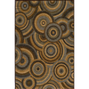 Momeni Chase 63-in x 90-in Rectangular Brown/Tan Geometric Area Rug