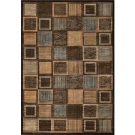 Momeni Varick Brown Rectangular Indoor Woven Area Rug (Common: 5 x 8; Actual: 63-in W x 90-in L)