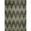 Momeni Jarret Green Rectangular Indoor Woven Area Rug (Common: 5 x 8; Actual: 63-in W x 90-in L)