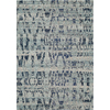 Momeni Drake Ocean Blue Rectangular Indoor Woven Area Rug (Common: 5 x 8; Actual: 63-in W x 90-in L)