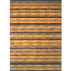 Momeni Max 96-in x 132-in Rectangular Yellow/Gold Transitional Area Rug