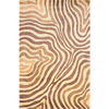 Momeni Lennox 42-in x 66-in Rectangular Brown/Tan Transitional Area Rug