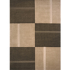Momeni Scott 60-in x 96-in Rectangular Brown/Tan Geometric Area Rug