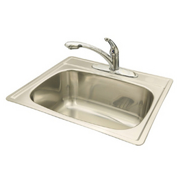 Franke Laundry : Shop Franke USA Stainless Above Counter Stainless Steel Laundry Sink ...