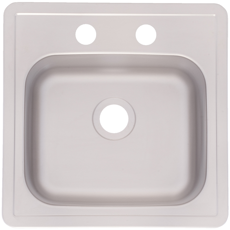 Franke USA FrankeUSA 22-Gauge Single-Basin Drop-in Stainless Steel Bar ...