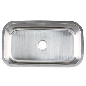 Franke USA 18-Gauge Single-Basin Undermount Stainless Steel Kitchen Sink FSU118