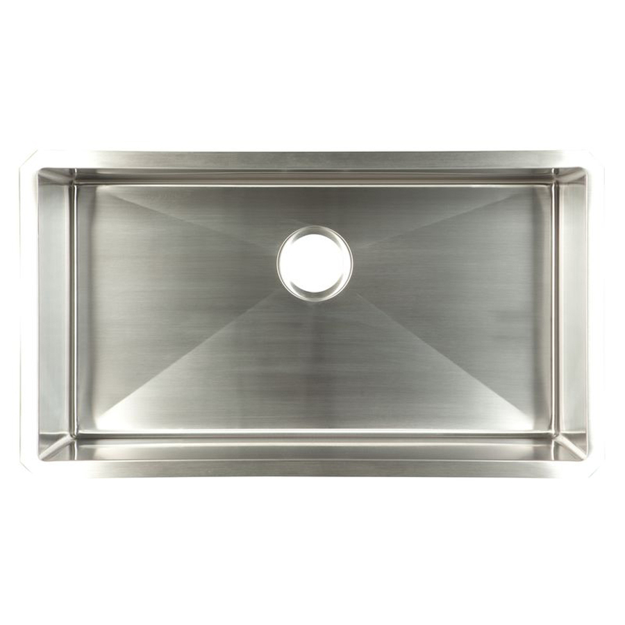 ... Bowl Single-Basin Stainless Steel Undermount Kitchen Sink at Lowes.com