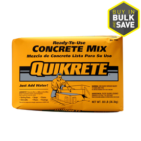 QUIKRETE 80 lbs Setting Post Concrete Mix
