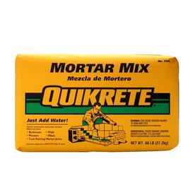 QUIKRETE 60-lb Gray Type-N Mortar Mix