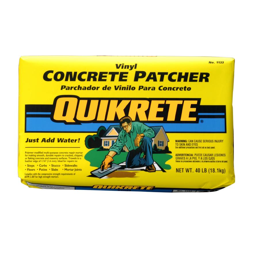 Portland Cement Lowes : Shop quikrete lb concrete patch at lowes
