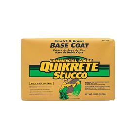 QUIKRETE 80 lbs Base Coat Stucco Mix