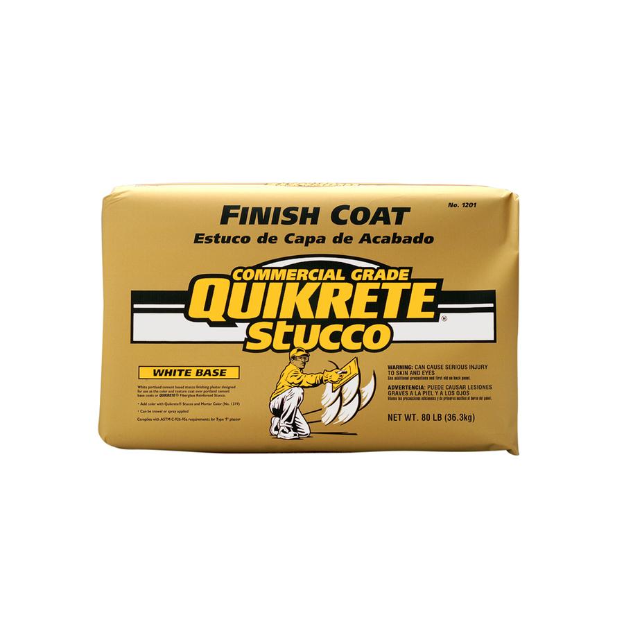 Shop Quikrete 80 Lbs Finish Coat Stucco Mix At