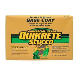 QUIKRETE 60-lb Premixed Base Coat Stucco Mix