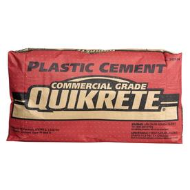 QUIKRETE Plastic 47-lb Gray Type-S Cement Mix