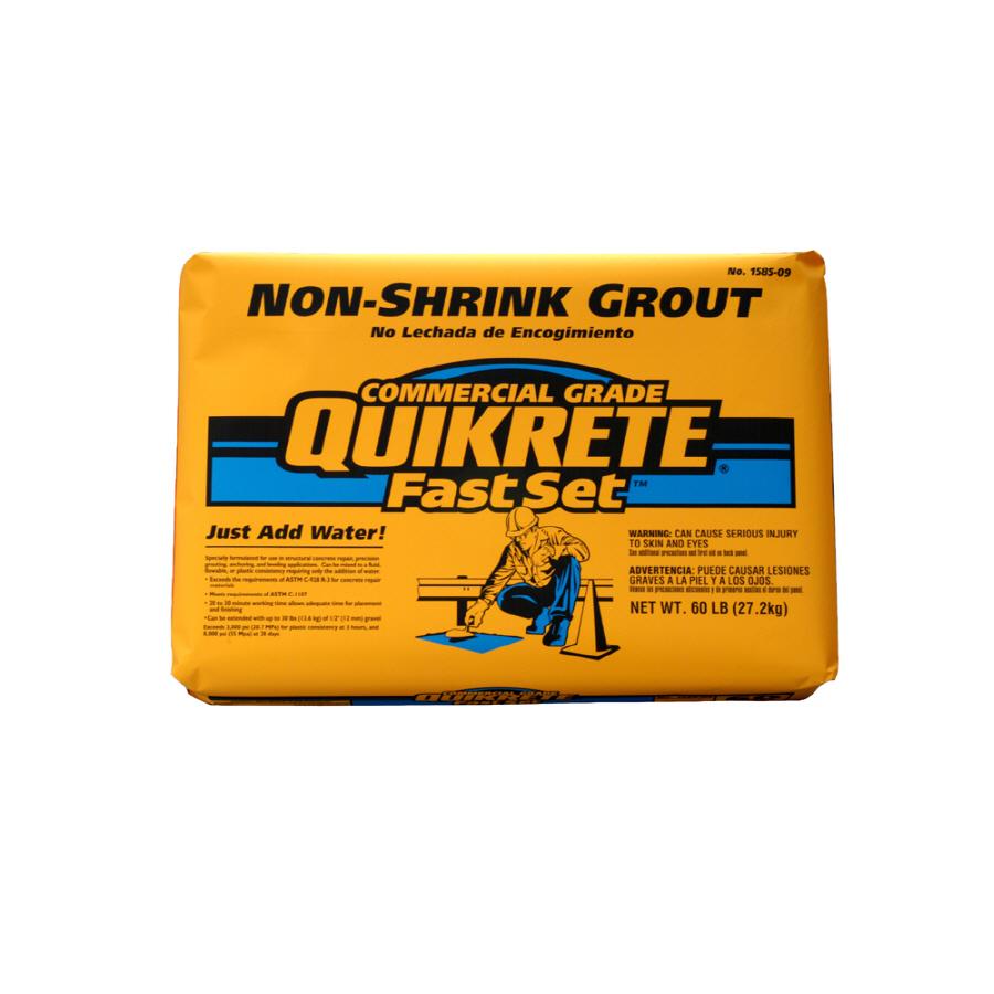 Shop Quikrete 60 Lb Non Shrink Grout At