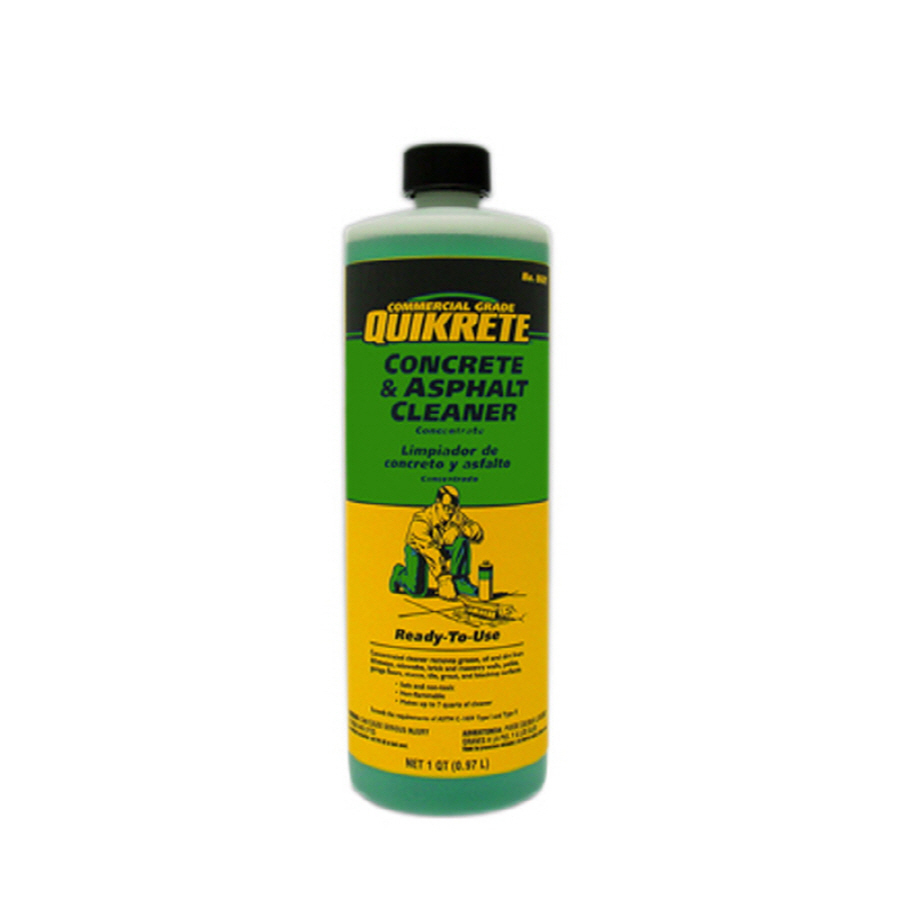 Shop quikrete masonry cleaner at for Best rated concrete cleaner