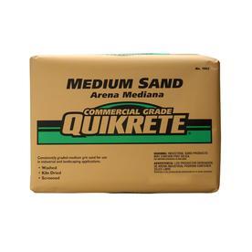 QUIKRETE 50-lb Commercial Grade Medium Sand