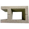 QUIKRETE 10-in x 8-in x 16-in A-Pilaster Fence Block