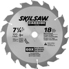 Skil 7-1/4-in 18-Tooth Standard Tungsten Carbide-Tipped Steel Circular Saw Blade