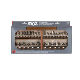 Skil 30-Piece Router Bit Set with 1/4-in Dia Shank