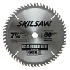 Skil 7-1/4-in 60-Tooth Standard Carbide Circular Saw Blade