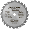 Skil 7-1/4-in Standard Tooth Tungsten Carbide-Tipped Steel Circular Saw Blade