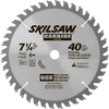 Skil 7-1/4-in 40-Tooth Circular Saw Blade
