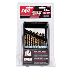 Skil 29-Pack Gold Oxide Twist Drill Bit Set