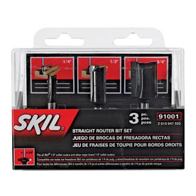 Skil Straight Router Bit Set
