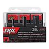 Skil 3-Piece Straight Router Bit Sewith 1/4-in Dia shank