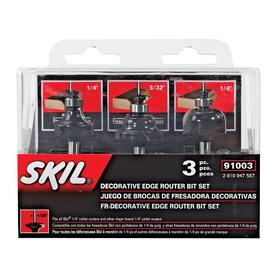 Skil Decorative Edge Router Bit Set