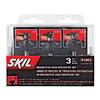 Skil 3-Piece Decorative Edge Router Bit Set