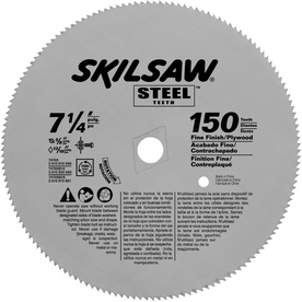 Skil 7-1/4-in 150-Tooth Circular Saw Blade