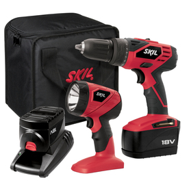 Skil 18-Volt Drill/Driver and Flashlight Cordless Combo Kit