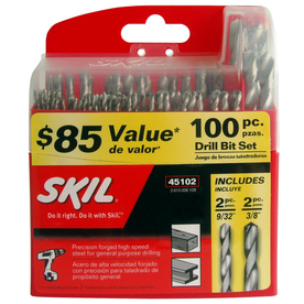 Skil 100-Piece Drill Bit Set