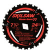 Skil 7-1/4-in 24-Tooth Circular Saw Blade