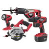 Skil 4-Tool 18-Volt Cordless Combo Kit