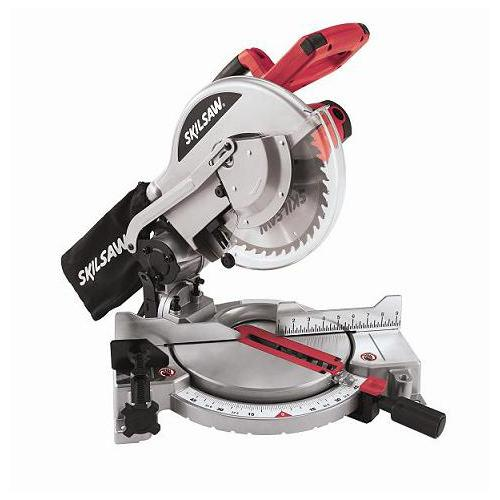 "Zoomed: Skil 10"" 15-Amp Compound Miter Saw"