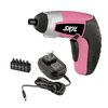 Skil iXo 4-Volt Max 1/4-in Cordless Susan G Komen Edition Screwdriver