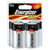 Energizer 4-Pack D Alkaline Batteries